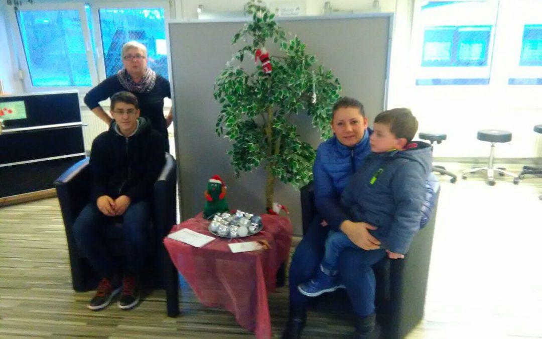 Kinder helfen heimischen Waldtieren im Winter!